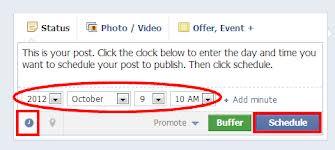 facebookschedule